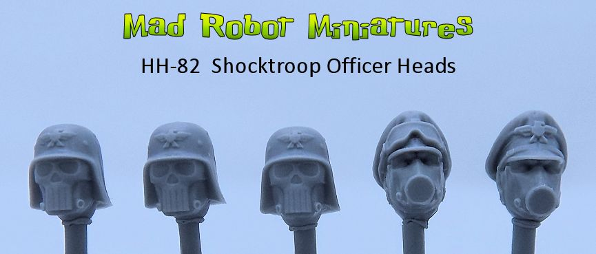 Shocktroop Officer Heads