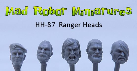 Ranger Heads - Male