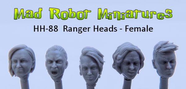 Ranger Heads - Female