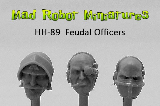 Feudal Officer Heads