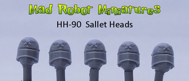 Heads with Sallets