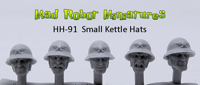 Heads with Small Kettle Hats
