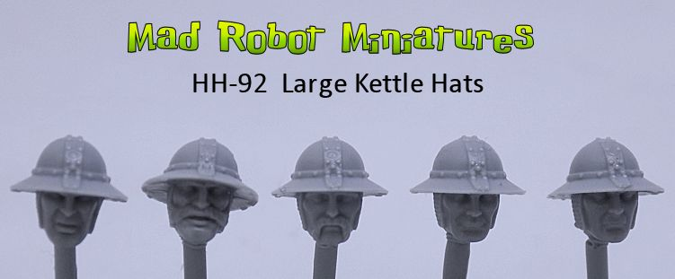 Heads with Large Kettle Hats