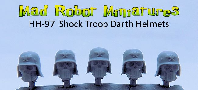 Shocktroop Darth Helmets