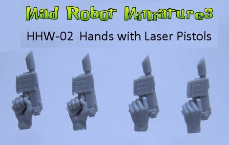 Hands with Laser Pistols II