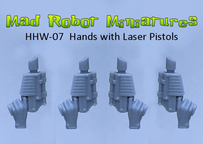 Hands with Laser Pistols