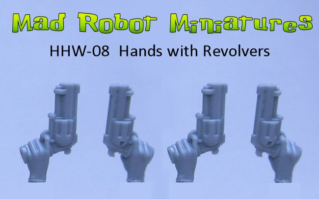 Hands with Revolvers