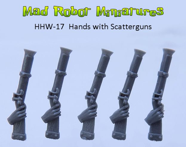 Hands with Scatterguns