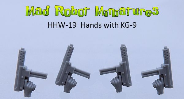 Hands with KG-9