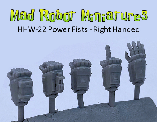 Power Fists - Right Handed