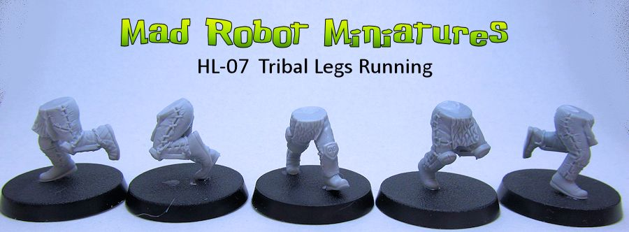Tribal Running Legs