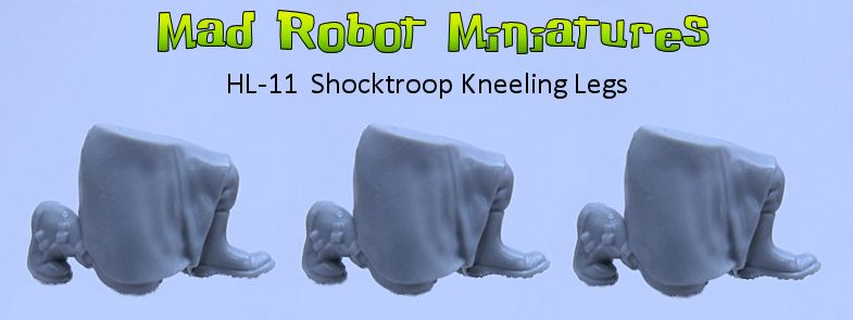 Shocktroop Kneeling Legs