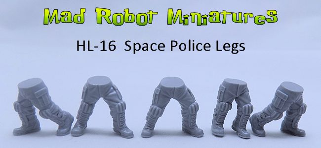 Space Police Legs