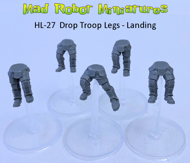 Drop Troop Legs - Landing