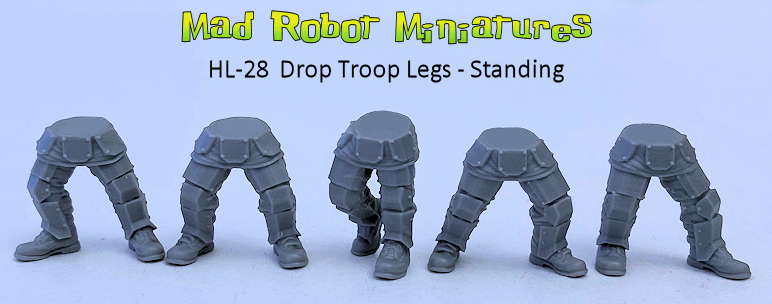 Drop Troop Legs - Standing