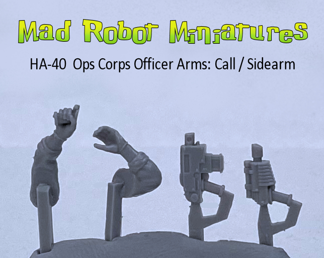 Ops Corps Officer Arms : Call / Sidearm