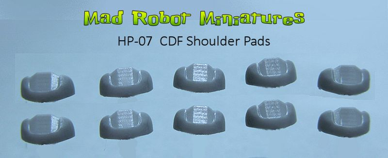 CDF Shoulder Pads