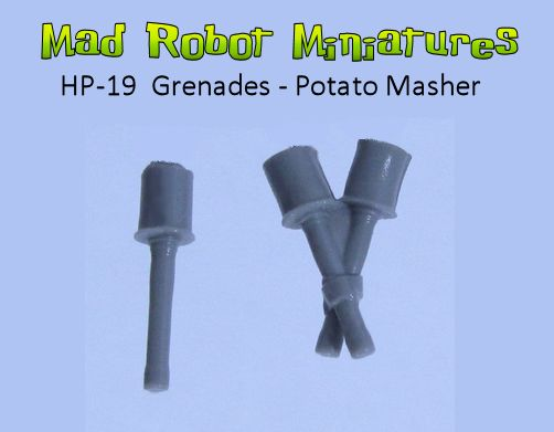 Grenades - Potato Masher