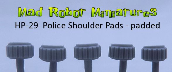 Police Shoulder Pads - padded