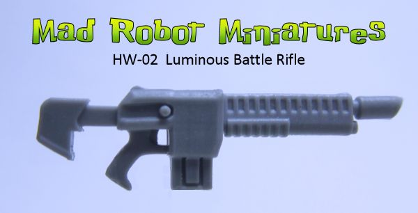 Luminous Battle Rifles