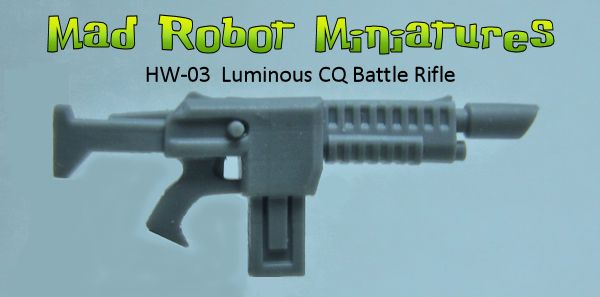 Luminous CQ Battle Rifles