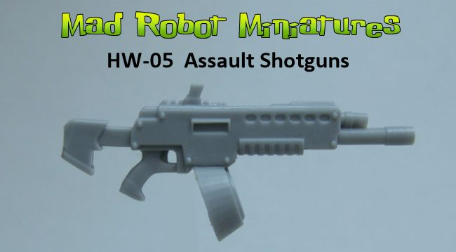 Assault Shotguns