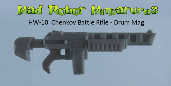 Chenkov Battle Rifles - Drum Mag