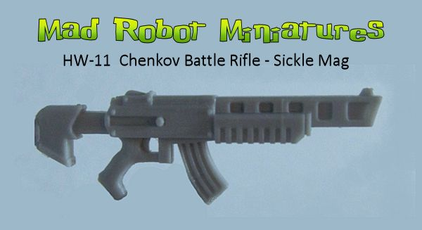 Chenkov Battle Rifles - Sickle Mags