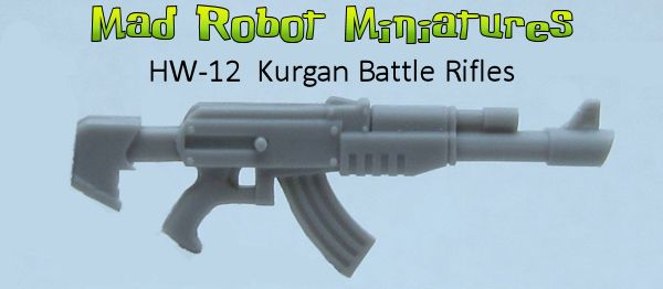 Kurgan Battle Rifles