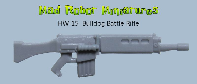 Bulldog Battle Rifle