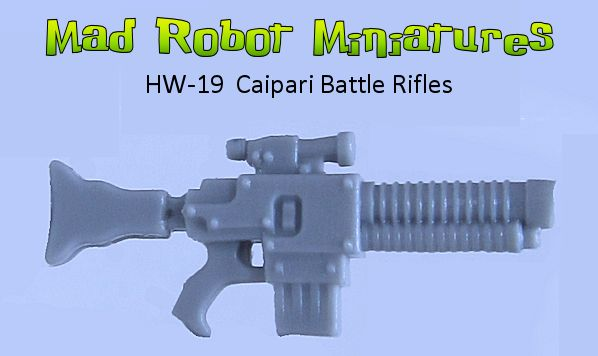 Caipari Battle Rifles