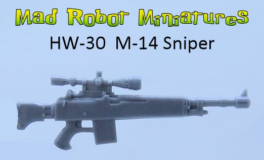 MR-14 Sniper Rifles