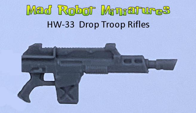 Drop Troop Rifles