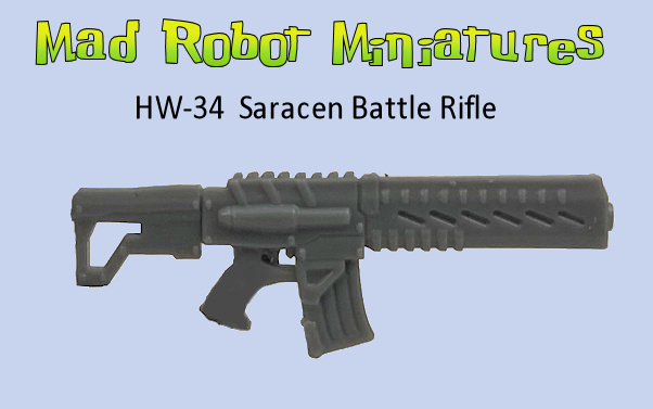 Saracen Battle Rifles