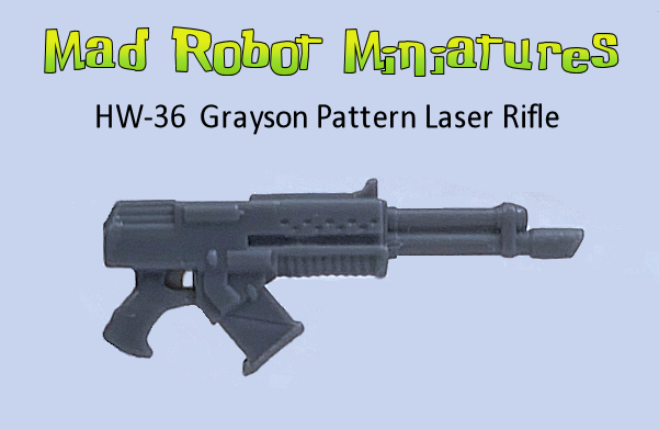 Grayson Pattern Laz Rifle