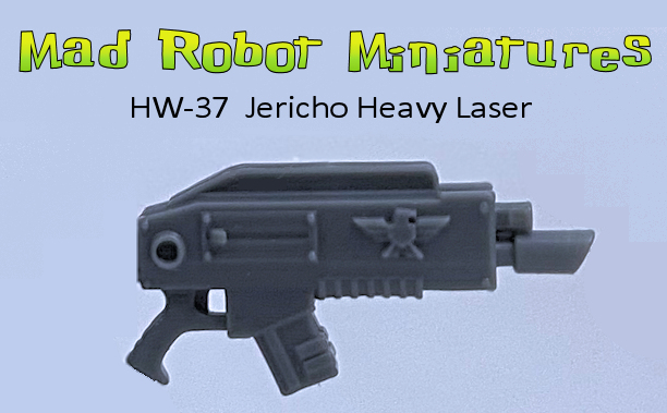 Jericho Heavy Laz Rifle