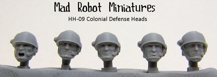 Colonial Defense Heads