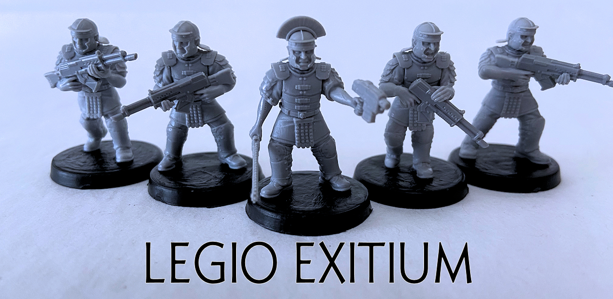 Legio Exitium Fire Team - Advancing