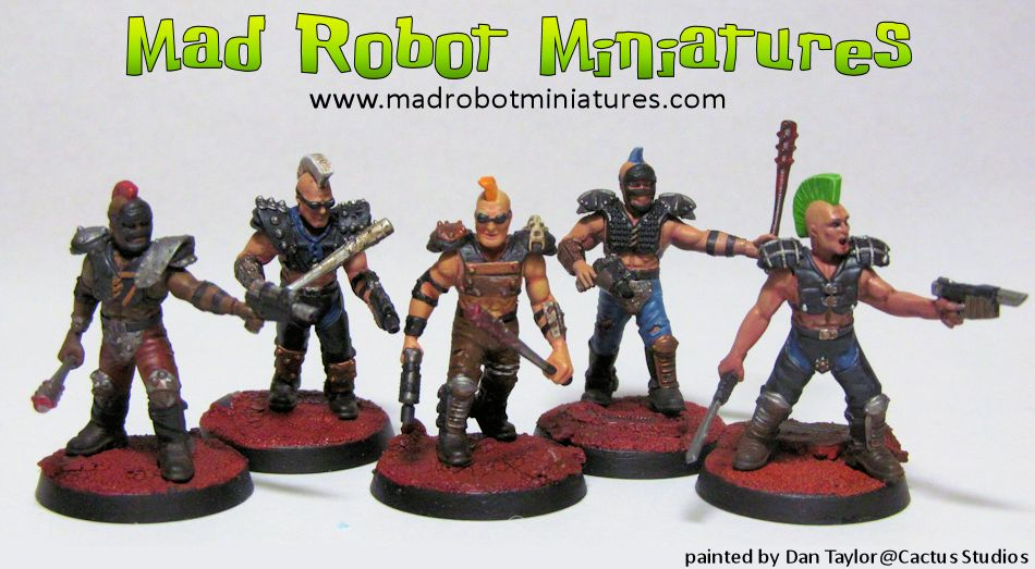 Wasteland Raider Fire Team