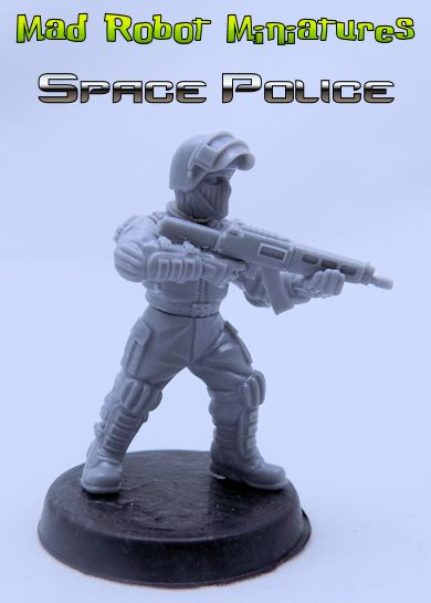 Space Police Combat Team