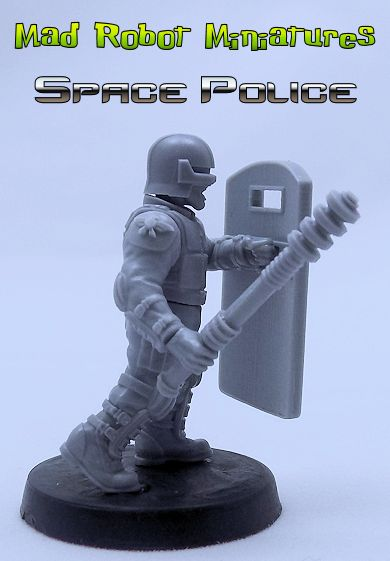Space Police Riot Control Team